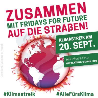 Klimastreik am 20.09.2019